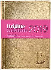 Brigitte 2019 - Taschenkalender, Buchkalender, Organizer, Planner  -  10 x 14 cm