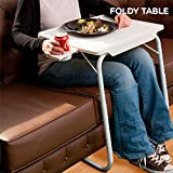 Mesa Plegable con Apoyavasos Foldy Table Test
