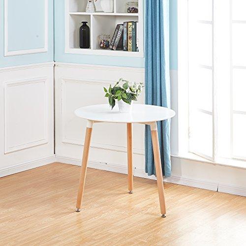 Esstisch Coavas Rund Küchentisch Modern Büro: Esstisch-Rund-Weiss + Ratgeber + Infos + Top-Produkte