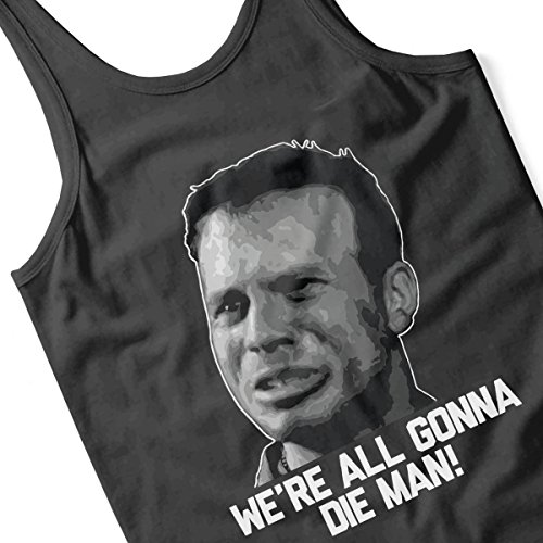 We Are All Gonna Die Man Aliens Men's Vest Black