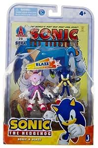 Sonic the Hedgehog Sonic and Blaze Comic Pack Set