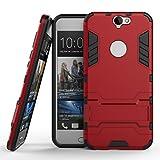 HTC One A9 Coque, SATURCASE Hybride 2 en 1 [PC & Silicone] Double Couche Pare-chocs...
