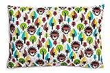 Kissenbezug Kissenhülle 40x60 cm mit Reißverschluss aus 100% Baumwolle, hergestellt in Europa...