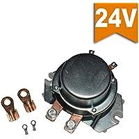 Ehdis® Duty Solenoid continuo 24 Volt 4 interruttori Terminal 300 Amp Auto Replay Heavy Duty corrente di picco 3000A molto orario di lavoro