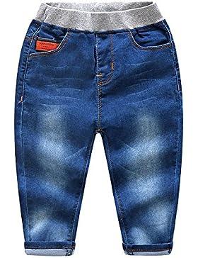 LAPLBEKE Pants Boys Regular Fit, Vaqueros Niños,2-8 Años
