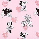 Fabulous Fabrics Disney Mickey Mouse & Freunde rosa -