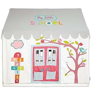 kidsley 015 spielhaus schule aus stoff spielzeug. Black Bedroom Furniture Sets. Home Design Ideas