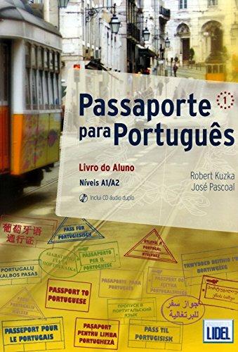 Passaporte Portugués 1. Alumno (+CD) (Passaporte Para Portugus) por Vv.Aa.