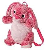 Inware 7616 - Kindergarten Rucksack, Hase, pink/weiß