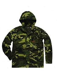 Jesse James Jacket Industry Summer Parka, Farbe:camouflage;Größe:2XL