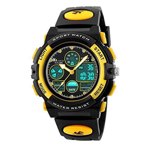 Hiwatch Relojes Deportivos Impermeable Niños