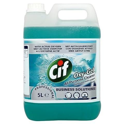 Cif Professional Oxy-Gel Nettoyant tout usage océan 5L