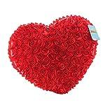 Black Temptation Peluches Amor Muñeca / Rojo Lindo del Amor de Juguete de Felpa / Amortiguador de la Almohadilla Creativa Amor Regalos de Boda de los Pares
