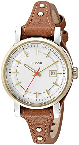 Fossil Obf Small Analog Silver Dial Women's Watch-ES3949