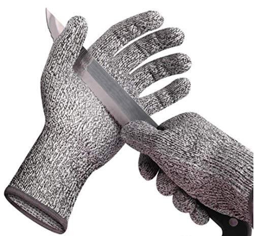 Essencee Schnittschutzhandschuhe (1 Paar) - ideal für Zerstäubern, 0nion Chopper - schnittfeste Handschuhe - Lebensmittelqualität, Sicherheit Küche für Austernschlag, Fischfilet (Garten-chopper)