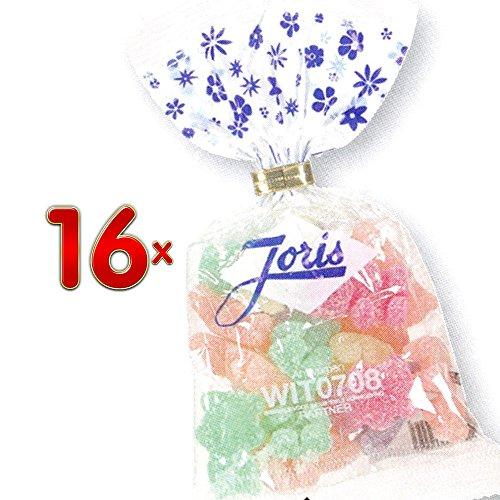 Joris Oursons Citrics Sachet 16 x 100g Packung (saures Weingummi in Bärchenform)