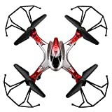 Aerial photography Quadcopter - JJRC H29C 2.4G 4CH 6-Axis Gyro RC Quadcopter Drone con 2.0MP HD Camera Rosso from Jjrc
