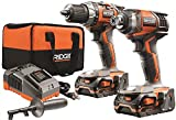 RIDGID TOOL COMPANY GIDDS2-3554587 18V Drill And Impact Driver Kit by Ridgid