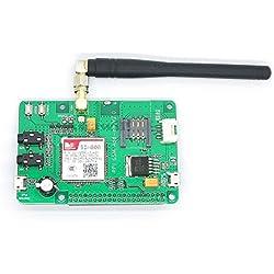 Asiawill SIM800 Raspberry PI gsm/GPRS ADD-ON V2.0 gsm/GPRS módulo compatible con Raspberry PI