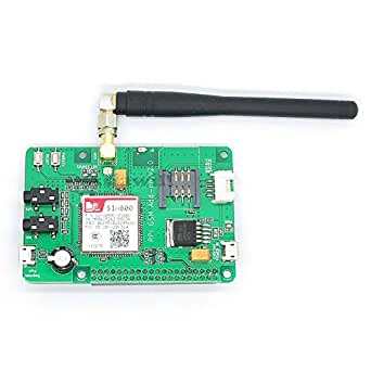 Asiawill Raspberry PI SIM800 GSM/GPRS ADD-ON V2.0 Module GSM/GPRS compatible avec Raspberry Pi
