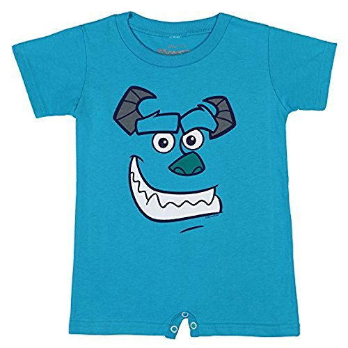 I Am Sulley Baby Romper - Blue (0-6) (Sulley Monsters Inc)