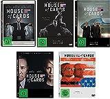 House of Cards - die komplette Staffel 1-5 im Set - Deutsche Originalware [20 DVDs]