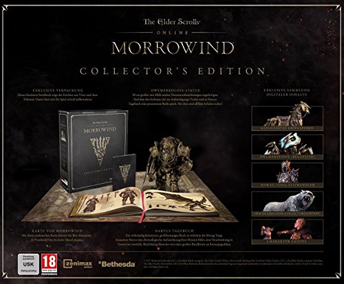 The Elder Scrolls Online: Morrowind - Collector's Edition (exkl. bei Amazon.de) - [PlayStation 4]