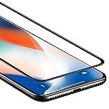 ESR iPhone XS/X Panzerglas Schutzfolie, Vollständige Abdeckung 9H, 5-Mal verbesserte gehärtetes...