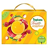 Tropicana Delight Fruit Juice - Festive Gift Box 3L ( Mixed Fruit , Apple , Litchi)