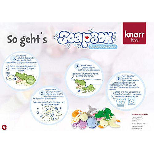Knorrtoys 78005 – Soap Sox sea family, Taylor - 5