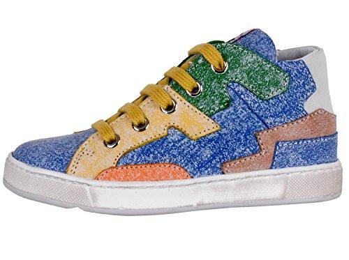 LIONEL 0012009105049131 nATURINO, chaussures basses mixte enfant Multicolore - Mehrfarbig (MULTICOLORE 9131)