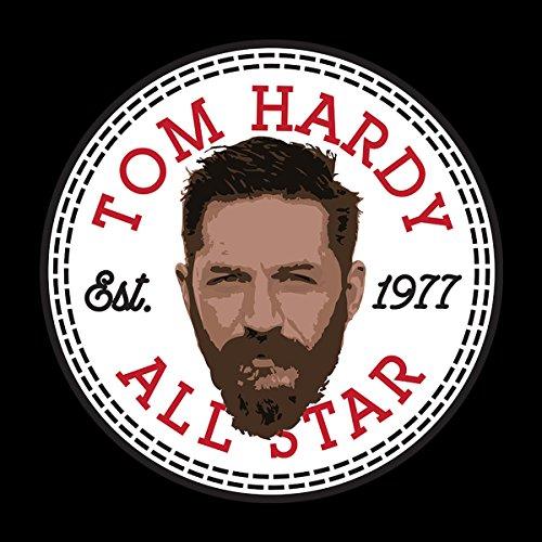 Tom Hardy All Star Converse Logo Men's Hooded Sweatshirt Black