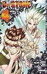Dr. Stone, tome 4 : Senku's lab par Inagaki