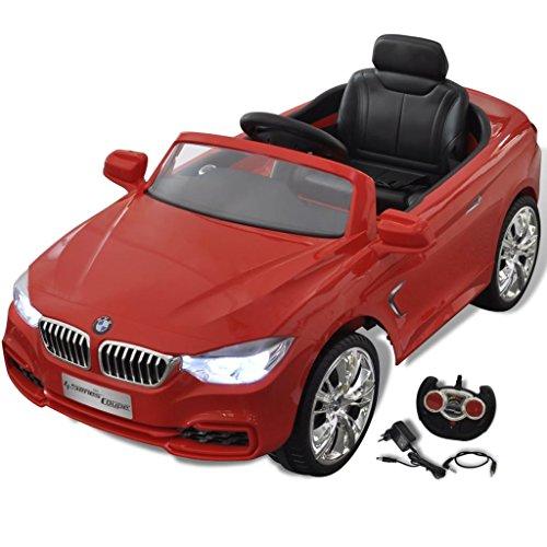 BMW Décapotable Rouge 6v