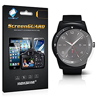Membrane 3 x Film de Protection écran compatibles avec LG G Watch R - Ultra Clair (B00RK3398A) | Amazon price tracker / tracking, Amazon price history charts, Amazon price watches, Amazon price drop alerts
