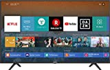 Hisense H55BE7000 - TV 55' 4K Ultra HD Smart TV, 3 HDMI, 2 USB, Salida óptica y de Auriculares, WiFi n, HDR, Dolby DTS, Procesador Quad Core, Smart TV VIDAA U 3.0 con IA, Amazon Alexa Ready.