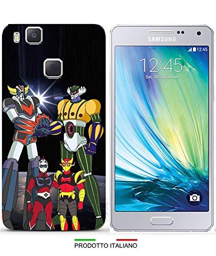 Cover goldrake & gig robot per iphone 7 - samsung s7 - samsung s7 edge - samsung a520 (a5 2017) - a320 (a3 2017) - samsung j3 - huawei p8 - huawei p8 lite - p8 lite 2017 - huawei p9 - huawei p9 lite, per specificare il modello desiderato inviare un messaggio al venditore.