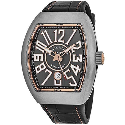 60696e14008a Franck Muller Reloj de Hombre automático Caja de Titanio 45SCTTGRYGLD