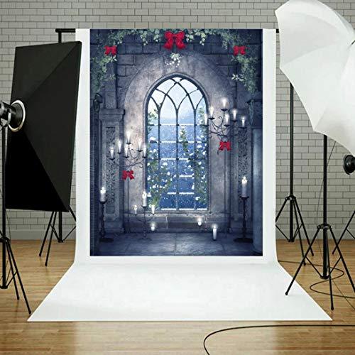 3D-Studio-Hintergrund Tuch,TPulling Halloween Backdrops Kürbis Vinyl 5 x 3FT Laterne Hintergrund Fotografie Studio 100% Musselin Hintergrund Stoff Fotografie-Hintergrund (E)