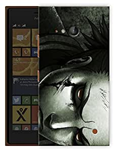 "Humor Gang Angry Hero Art Printed Designer Mobile Back Cover For ""Nokia Lumia 730"" (3D, Matte Finish, Premium Quality, Protective Snap On Slim Hard Phone Case, Multi Color)"