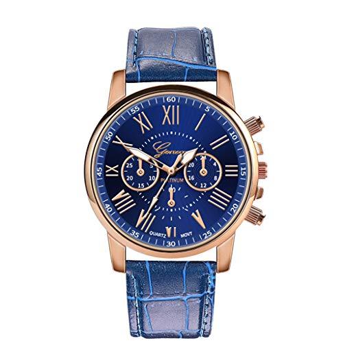 Neuer Trend  Armbanduhr Damenmode Einfache Uhr Ultradünn Mode Retro Quarz Analoges Lederarmband Analog Quarz Uhr LEEDY