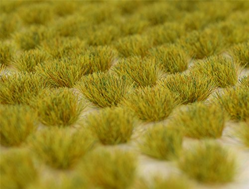 WWS printemps Grass 6mm Adhésif statique herbe x 100 Tufts SPR006