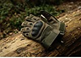 KT-SUPPLY Motorrad Handschuhe Vollfinger Für Painball Airsoft Militär Und Taktischen Aktivitäten Armeegrün M - 5