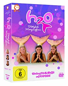 H2o Just add Water complete series 3 DVD in Boxset. 2011 German Import with English Audio option.