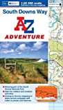 South Downs Way Adventure Series (Adventure Atlas) by Geographers A-Z Map Co Ltd (4-Mar-2013) Paperback