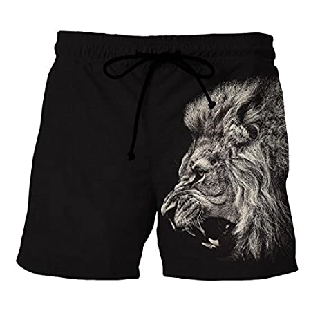 Brinny 3D Imprimé Maillot de bain - Homme Boxer Trunks Shorts Pantalon Court de Sport Plage Mer Loisir Élastique Réglable Bande Été Bermudas Slip Nuage de constellation Galaxy Ciel étoilé animal