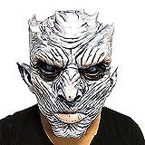 mi ji Noche de Halloween Rey máscara del Fantasma Hombres Espeluznante de Halloween Máscara de Halloween Partido de la película Blanca andadores Máscara Cosplay Traje para Halloween