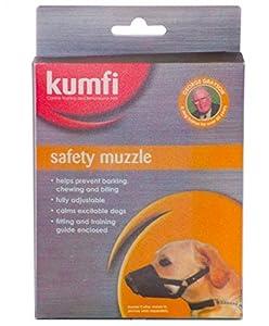 Kumfi Muselière de sécurité pour chien Taille L