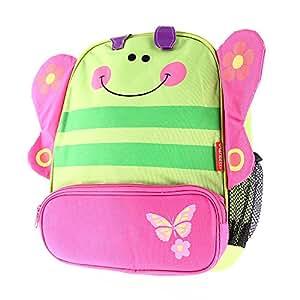 Sac à dos Cartable Bookbag Backpack Style PAPILLON pour Enfant Garçon Fille