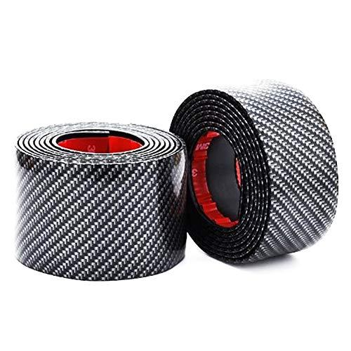 LUOSI Car Styling Carbon-Faser-Leisten-Streifen Auto Zierleisten Adhesive Türschwellerschutz Trim Car Styling Zubehör 1M (Color : 7CM)
